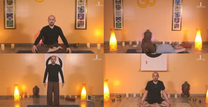 4 clases de yoga